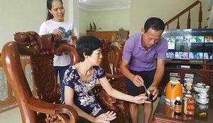 Bà Dương Thị Hoài đã khỏi tai biến nhờ uống An Cung Trúc Hoàn của lương y Nguyễn Quý Thanh