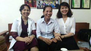 bà phượng và lương y Nguyễn Quý Thanh