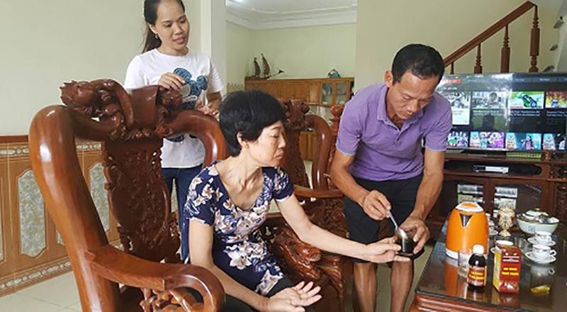 Bà Dương Thị Hoài!