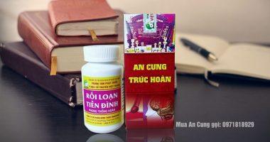 Thuốc An Cung Trúc Hoàn