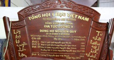Câu chuyện về dòng họ Nguyễn Quý từng làm Thái y Triều Lê
