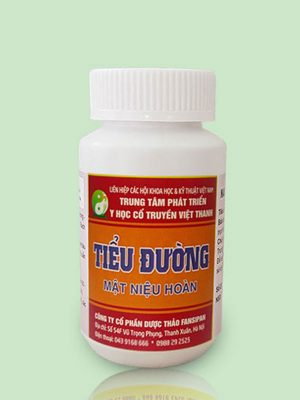 Thuốc tiểu đường Quý Thanh (ảnh 2018)