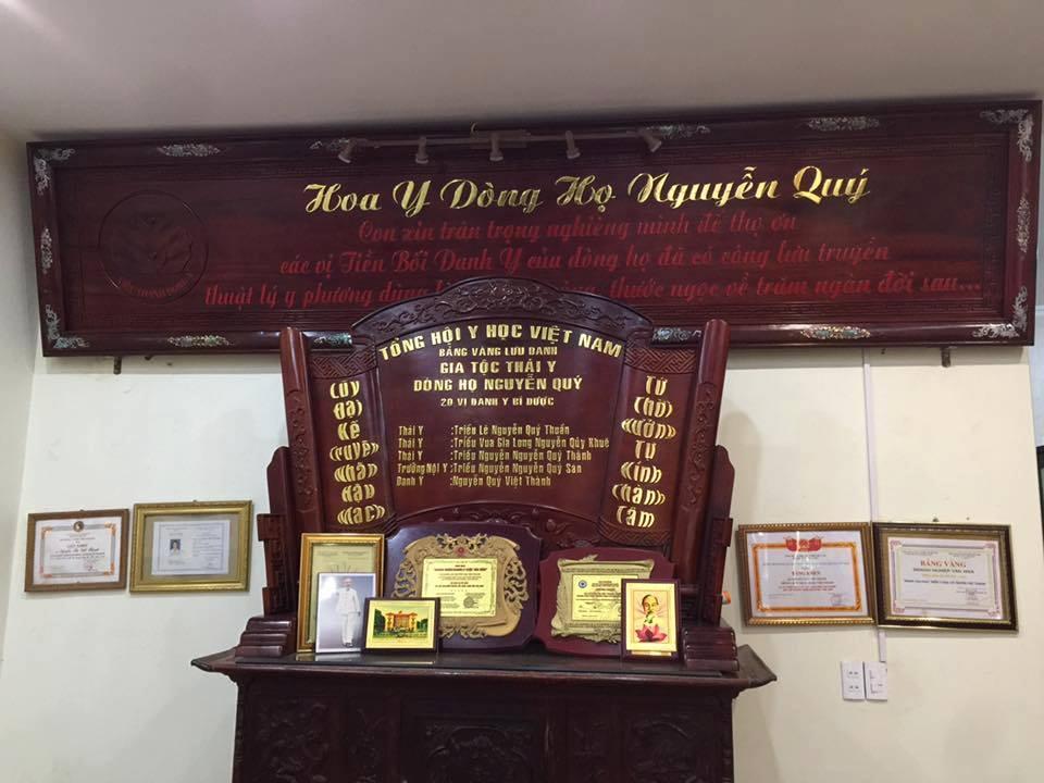 bảng vàng gia tộc họ nguyễn quý