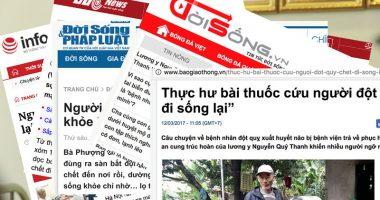 Báo chí nói về An Cung Trúc Hoàn của Lương y Nguyễn Quý Thanh?
