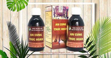 Thuốc An Cung Trúc Hoàn chính hãng Lương y Nguyễn Quý Thanh